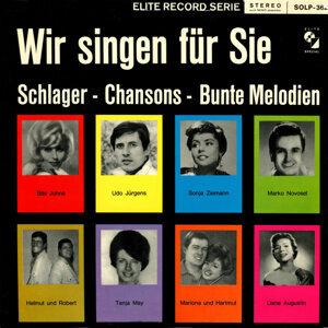 Wir singen für Sie Schlager-Chansons