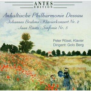 Jaan Raeaets: Klavierkonzert Nr. 2, Johannes Brahms: Sinfonie Nr. 5