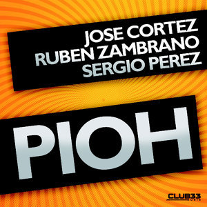 Jose Cortez, Ruben Zambrano y Sergio Perez