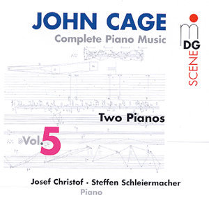 Cage: Complete Piano Music Vol. 5
