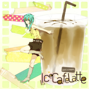 Ice Cafe Latte (Just a Cream)