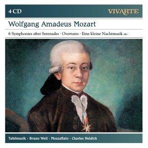 【VIVARTE 古樂套裝系列7】Bruno Weil &Tafelmusik / Mozart: Symphonies after Serenades; Overtures; Eine kleine Nachtmusik etc