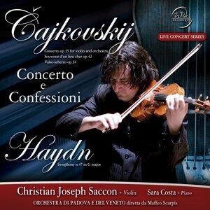 Cajkovskij and Haydn: Concerto e confessioni