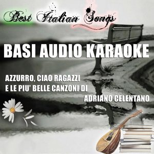 Best italian songs - basi audio karaoke of adriano celentano