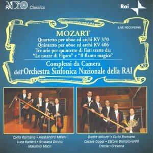 Mozart: Kv 370, Kv 406, Le Nozze Di Figaro, il Flauto Magico