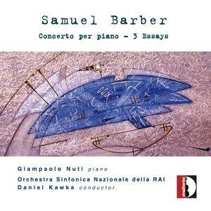 Samuel Barber: Concerto per piano - 3 Essays
