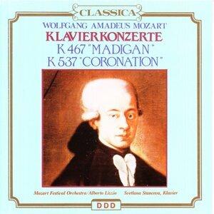 "Wolfgang Amadeus Mozart : KlavierKonzerte, K467 ""Madigan"", K537 ""Coronation"""