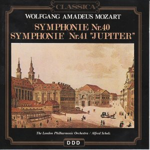 "Wolfgang Amadeus Mozart : Sinfonie No. 40, Symphonie No. 41 ""Jupiter"""