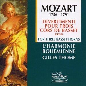 Mozart : Divertimenti pour 3 cors de basset