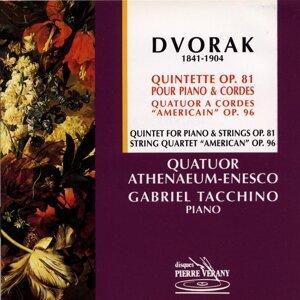 Dvorak : Quintette pour piano & cordes, Op.81 - Quatuor à cordes ''Américain'', Op.96