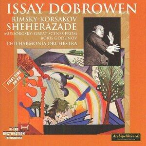 Nicolai Rimsky-Korsakov : Scherazade, Symphonic suite Op.35 - Modest Mussorgsky : Boris Godunov