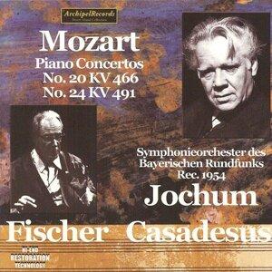 Wolfgang Amadeus Mozart: Piano Concertos No. 20 KV 466 & No. 24 KV 491