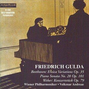 Ludwig Van Beethoven: Eroica Variations Op. 35 & Piano Sonata No. Op. 101 - Carl Maria Von Weber : Konzertstück Op.79