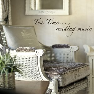 Tea Time Reading Music - Wellness Piano and Ambient Meditative Music