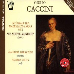 Caccini - Intégrale des madrigaux & arias, vol.1 : Le nuove musiche (1601)