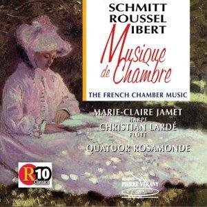 Roussel Ibert Schmitt : Musique de chambre