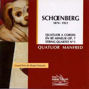 Schoënberg : Quatuor à cordes en ré mineur, Op.7