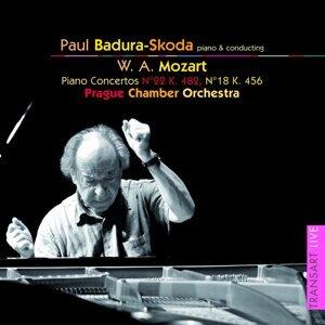 Mozart : Concertos pour piano N° 22 KV 482 et 18 KV 456 - Piano concertos No. 22 K. 482 and 18 K. 456