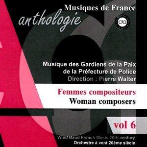 Anthologie des musiques originales pour orchestre à vent au XXème siècle - Femmes Compositeurs, Vol. 6