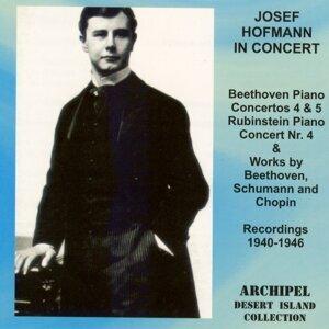 Josef Hofmann In Concert (1940-1946) - Beethoven, Schumann & Chopin - Piano Concertos