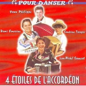 4 étoiles de l'accordéon