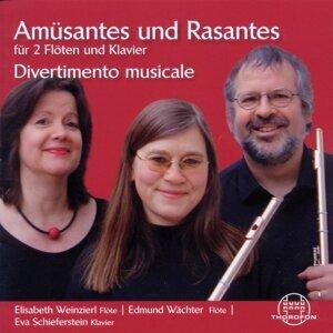 Amüsantes und Rasantes für 2 Flöten und Klavier
