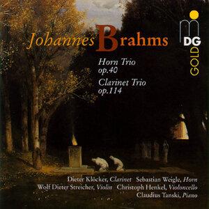 Brahms: Horn Trio, Op. 40 & Clarinet Trio, Op. 114