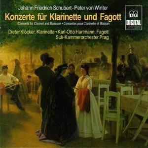 Schubert & von Winter: Konzerte für Klarinette und Fagott