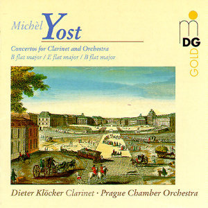 Yost: Concertos for Clarinet and Orchestra