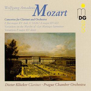 Mozart: Clarinet Concertos KV 14.04 & KV 622, Variations