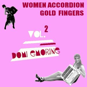 Women Accordion Gold Fingers, Vol.2