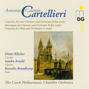Cartellieri: Clarinet Concertos, Vol. 2