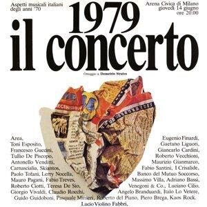 1979 Il concerto. Omaggio a Demetrio Stratos
