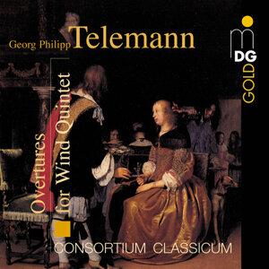 Telemann: Overtures for Wind Quintet