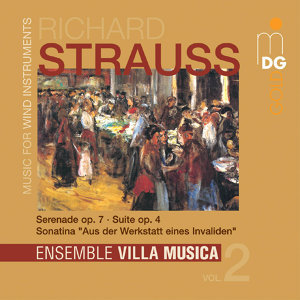 Strauss: Music for Wind Instruments, Vol. 2