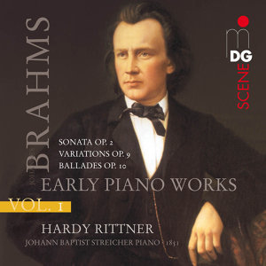 Brahms: Early Piano Works, Vol. 1