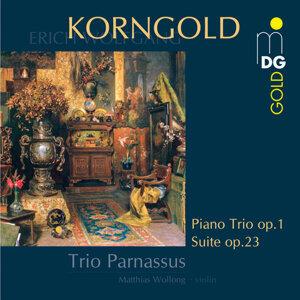 Korngold: Piano Trio, Op.1, Suite, Op.23