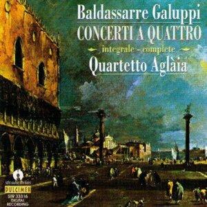 Baldassarre Galuppi : Concerti A Quattro