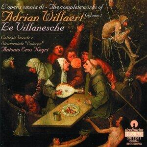 Adrian Willaert : Le Villanesche Vol.1