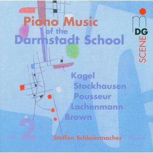 Piano Music of the Darmstadt School Vol. 2