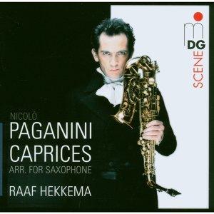 Paganini Caprices op. 1 [arr. für Saxophon]