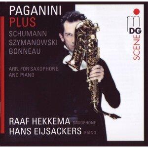 Paganini Plus. Schumann-Szymanowski-Bonneau