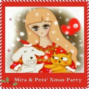 米拉拉與寵物的聖誕音樂趴