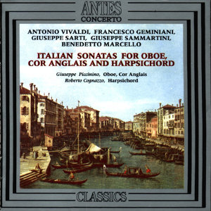 Italian Sonatas For Oboe, Cor Anglais And Harpsichord