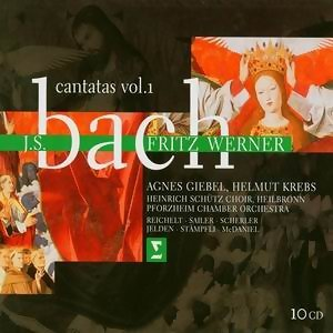 Bach : Cantatas REMASTERED Vol.1 10CD
