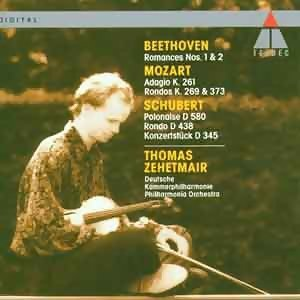 Schubert, Beethoven & Mozart : Violin Concertos