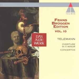 Frans Bruggen Edition Vol. 10 - Telemann