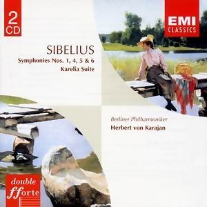 Sibelius : Symphonies 1/4/5/6 & Karelia Suite