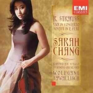 R. Strauss: Violin Concerto - Sonata - Sarah Chang - Sawallisch