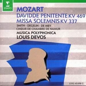 Mozart : Davidde Penitente KV 469